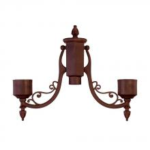 Acclaim Lighting 7096BW - Burled Walnut Post Adaptor