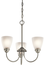 Kichler 43637NI - Mini Chandelier 3Lt