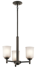 Kichler 43670OZ - Mini Chandelier 3Lt