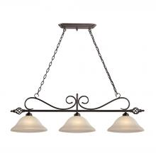 Elk Cornerstone 2203IS/10 - Santa Fe 3 Light Pendant  In Oil Rubbed Bronze
