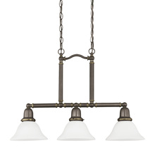 Sea Gull 66061-782 - Three Light Island Pendant